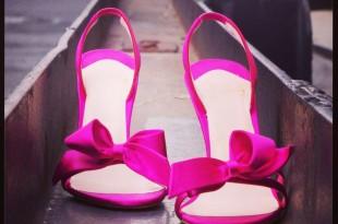 scarpe sposa rossa