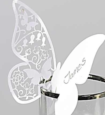 Segnaposto Matrimonio Con Farfalle.Segnaposto Con Farfalla Un Idea Originale E Simpatica Che Nozze