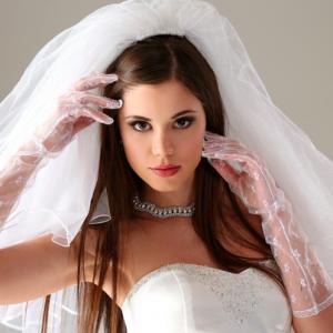 sposa truccata
