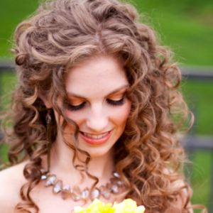 sposa capelli ricci