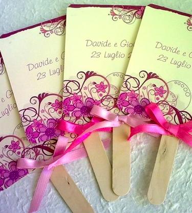Ventagli per matrimonio bomboniera o segnaposto che nozze for Idee originali per testimoni di nozze