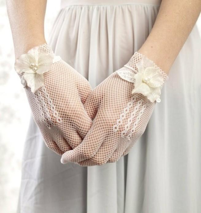 guanti romantici sposa