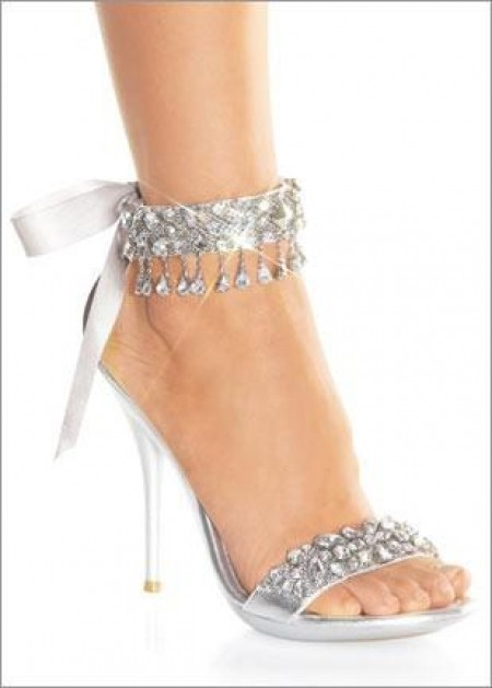 Silver Shoes Low Heel Ireland