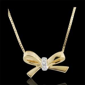 collier oro giallo sposa