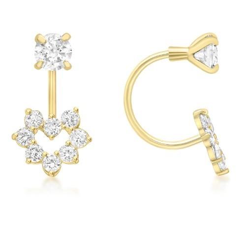 orecchini oro giallo sposa 2