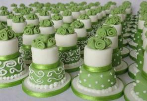 torta nuziale minicake