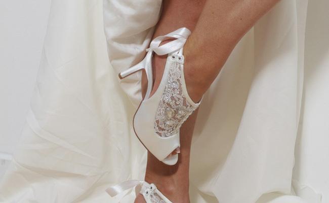 scarpe tacco alto sposa