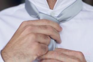 cravatta sposo nodo
