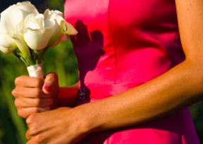 abito colorato sposa