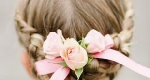 acconciatura fiori
